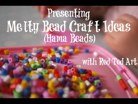 Melty Bead Crafts (aka Hama Beads Crafts)
