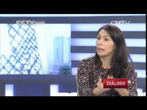 Entrevista de CCTV en español a Diana Gómez- sep 19 de 2014