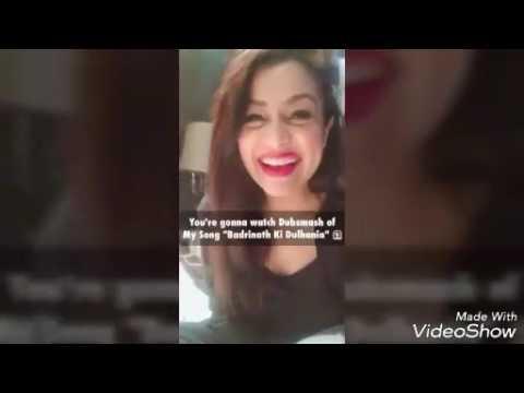 Neha kakkar promoting Badrinath ki dulhania
