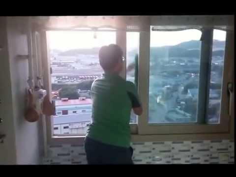 윈클리니 유리창청소 - 베란다유리창청소