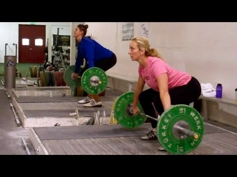 Olympic weightlifting technique coaching at California Strength Image 1