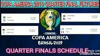 Copa America 2019 Quarter finals Fixtures, Schedule ; Copa America cup; Argentina vs Venezuela match