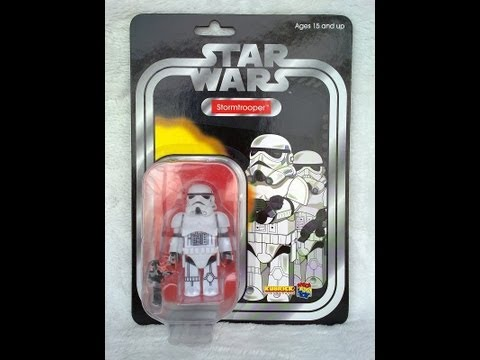 Star Wars Carded Kubrick Stormtrooper HD Action Figure Review | www.flyguy.net