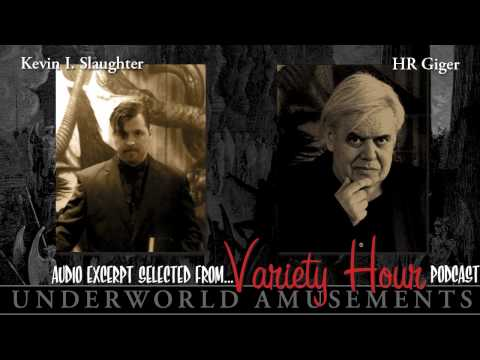 Variety Hour - H.R. Giger on Evolution of His Art Mediums and the Movie Alien