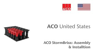 ACO StormBrixx: Assembly & Installation