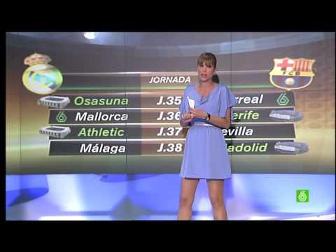 Sandra Sabatés (La Sexta Deportes)