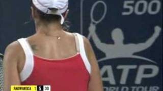 Agnieszka Radwańska vs Maria Jose Martinez Sanchez - China Open 09