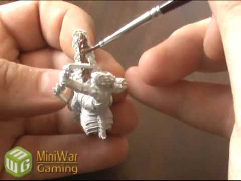 How to Wet Blend your Miniatures