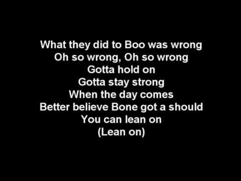 Tha Crossroads Lyrics - Bone Thugs-N-Harmony