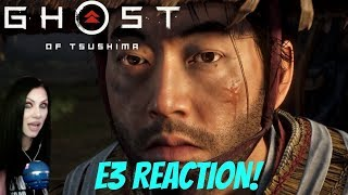 Ghost of Tsushima - E3 2018 Gameplay Debut - REACTION - PS4