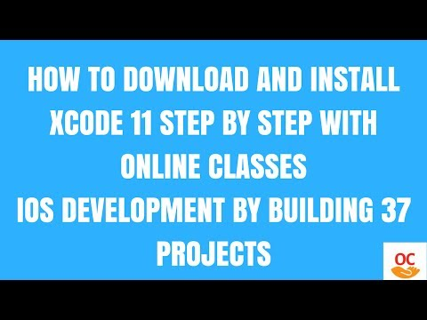 ios tutorial 1:how to download and install xcode 11  step by step 2017: Download and Install Xcode 9