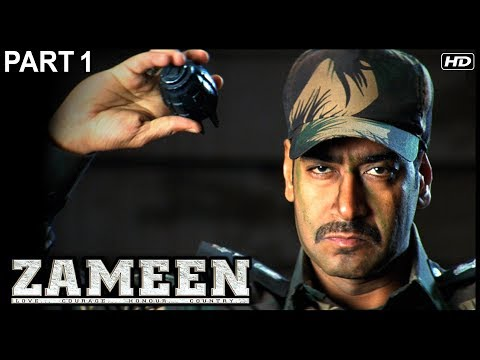 Zameen Hindi Movie | Part 1 | Ajay Devgan, Abhishek Bachchan, Bipasha | Latest Hindi Movies