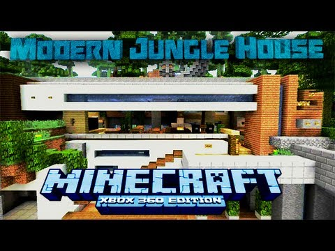 Modern jungle house minecraft xbox one youtube for Modern house minecraft xbox 360 edition