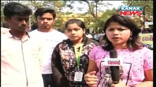 OUAT Protest In BBSR After Death Of Student In Accident