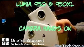 Lumia 950 and 950XL Camera Hands On