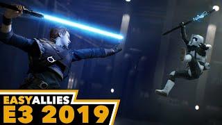 Star Wars Jedi: Fallen Order Impressions - E3 2019 (Day 1 Highlight)