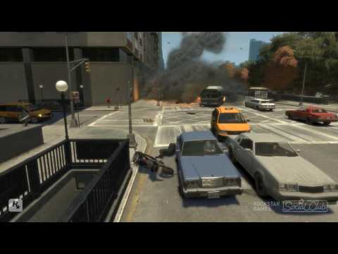 GTA 4 Stunts 3 Music Videos