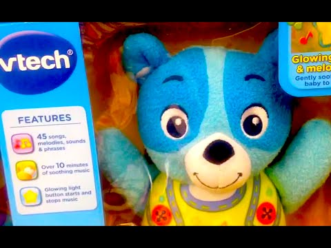 VTECH Soothing Sounds Bear [Singing Baby Bear from V-Tech] Video