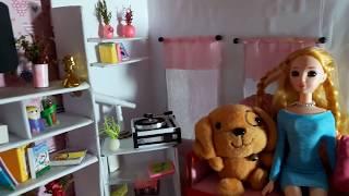 Giới thiệu căn nhà búp bê barbie tự làm# Phần 1