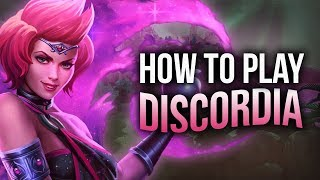 Mantle of Discord(ia)? - SMITE DISCORDIA BUILD & GUIDE [How To Play Discordia]