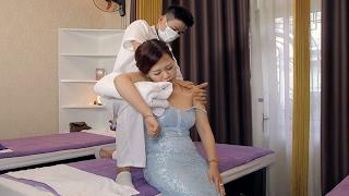 Shoulder Neck massage pain relief | Asian Relaxion Massage Japanese Reflexology |