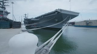 America's new carrier, the USS Gerald R. Ford