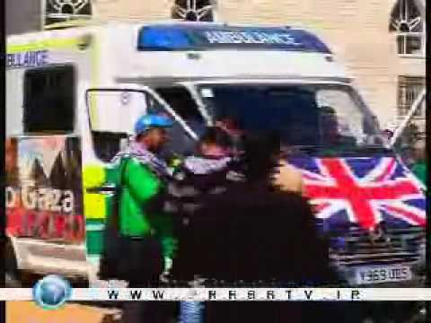 Vehicles in UK aid convoy handed over to Gaza officials - 11 March 2009