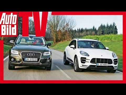 Porsche Macan Vs Audi Q5 Youtube