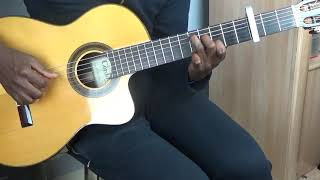 "How to play guitar : ""L'Eternel est bon"" song from Dena Mwana"