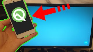 Wait ! What ??? Android Q Desktop Mode  - wireless ??