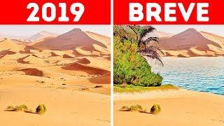E Se Houvesse Uma Inundação no Deserto do Saara?