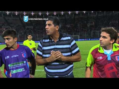La arenga de Villalba. Independiente 1 - Alianza 1. 32de Final.Copa Argentina 2015. FPT.