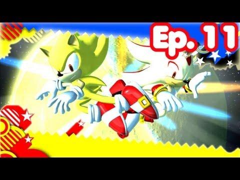 Super Sonic Generations - Ep.11 - Super Sonic Vs. Super Shadow video