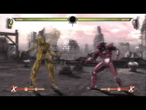 MK9 CYRAX COMBOS - POST PATCH TECHNOLOGIES BY TONY-T