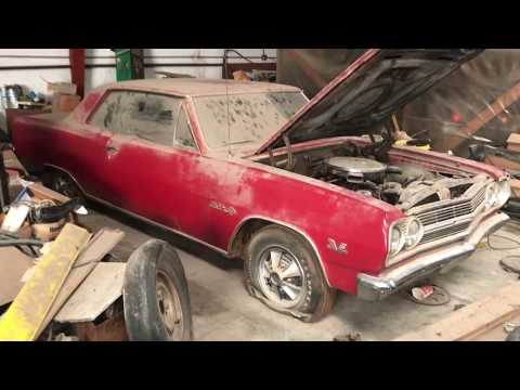 Cliff Gottlob's All Original 1965 Z16 396 Chevelle Barn Find Parked in Rural KS in1971 Walk Around