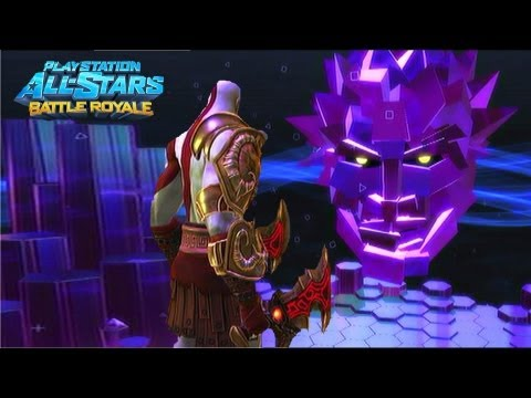 Playstation All Stars Battle Royale: Kratos Arcade Walkthrough (Commentary) (PS3) (HD)