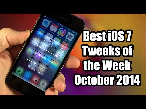 Best iOS 7 Cydia Tweaks of the Week - October 2014