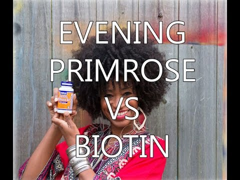 Evening primrose promotes hair growth youtube for Does fish oil help hair