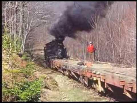 Cass & Mower Logging Trains - Heislers - Shay Steam Trains