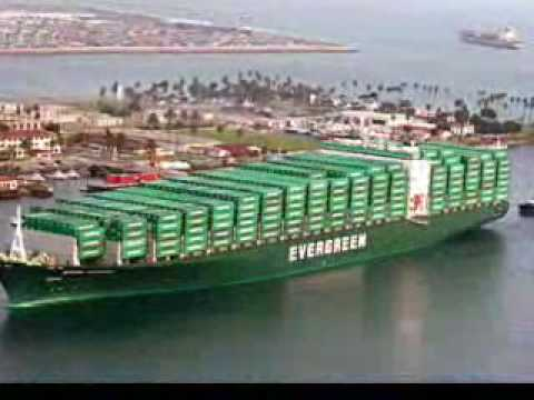 navios Container ships of the world