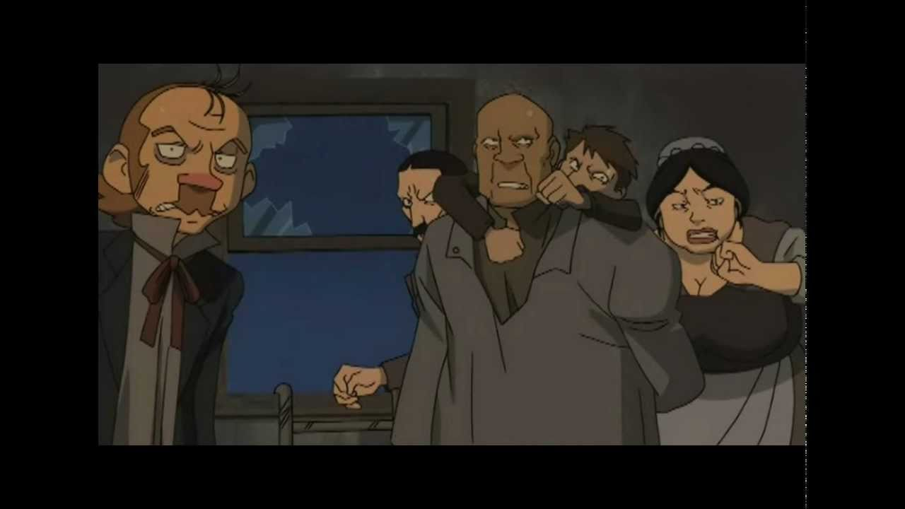 Shoujo Cosette Javert The Robbery Shoujo Cosette