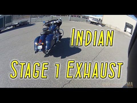 The Day I Tried The Indian Stage 1 Exhaust