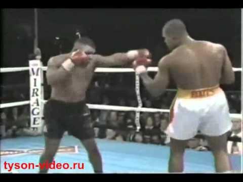 Майк Тайсон - Донован Раддок 1 41 (2) Mike Tyson vs Donovan Ruddock