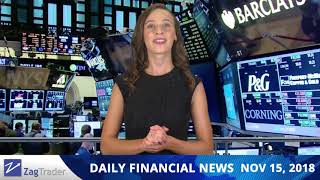 ZagTrader - Daily financial news - 15.11.2018