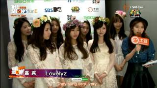 [ENG] 141118 Lovelyz - THE SHOW Interview