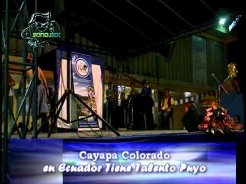 Sonomix con el Cayapa Colorado