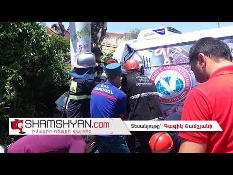 Ողբերգական ավտովթար Երևանում. երիտասարդ վարորդը Ford-ով բախվել է էլեկտրասյանն ու հաստաբուն ծառին