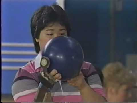 1988 Womens All America vs All Japan Games Bowling Exhibition part 10