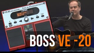 Boss VE - 20 Vocal Processor Demo / Review Featured In Guitar Interactive Magazine
