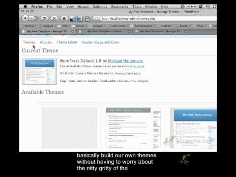 0 Wordpress Theme From Scratch Closed Captioned   Setting Up Wordpress Part 2